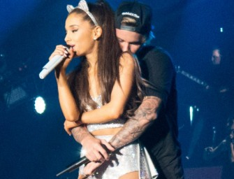 Justin Bieber Too Handsy With Ariana Grande On Stage, Is Big Sean Ready To Fight? (PHOTOS)