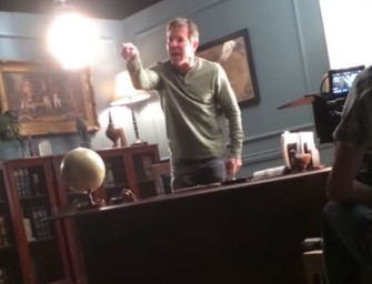 Watch: Dennis Quaid Loses His Mind On Film Set, But Is The Curse-Filled Meltdown Real?