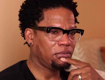 D.L. Hughley Trades Laughs For Tears While Talking About His Son With Asperger's Syndrome