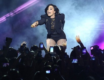 "Demi Lovato Dedicates Song To Bruce Jenner During Concert, Calls Him An ""Even Bigger Hero"""