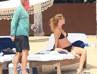 Gwyneth Paltrow And Chris Martin Celebrate One Year Of Not Being Together By Being Together On Vacation!