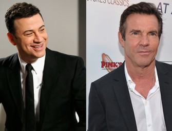 Jimmy Kimmel Talks About That Dennis Quaid Meltdown Video, Was It Just A Prank?