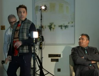 Robert Downey Jr. Walks Out Of Extremely Awkward Interview, Watch The Video Inside!