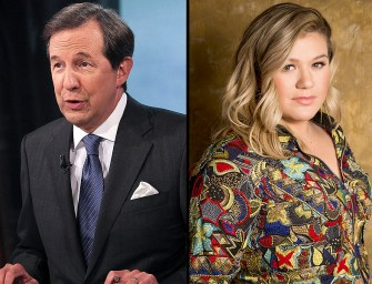 Fox News' Chris Wallace Sends Out Apology To Kelly Clarkson After Body Shaming Her