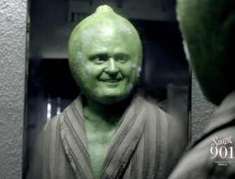WATCH: Justin Timberlake is in a Lime Costume and it's Pretty Entertaining!  (Video)