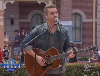Your American Idol Winner Nick Fradiani Makes Special Appearance On 'Live! With Kelly & Michael' (VIDEO)