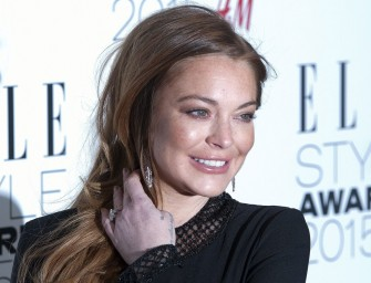 She Did It! Lindsay Lohan Completes 125 Hours Of Community Service Right Before Deadline!