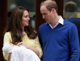 Kate Middleton And Prince William: See The First Photos Of Royal Baby No. 2! [UPDATED]