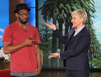 Watch Ellen's Guest DJ tWitch in a Magic Mike XXL Sneak Peek – Ladies Stop Drooling! Guys Hit the Gym (Video)