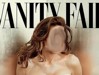 Caitlyn Jenner Says Goodbye to Bruce On Vanity Fair Cover (PHOTO)