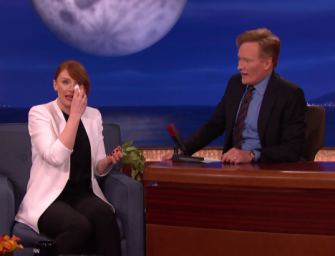 'Jurassic World' Star Bryce Dallas Howard Cries On Command While Listening To A Story About Home Depot (VIDEO)