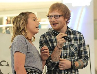 Ed Sheeran Is The Perfect Celebrity, Jumps On Stage To Surprise 13-Year-Old Fan Inside Mall (VIDEO)
