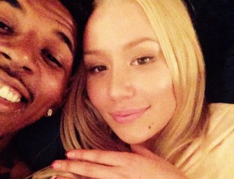 Nick Young Just Put A $500,000 Ring On Iggy Azalea's Finger, Watch The Proposal Inside!