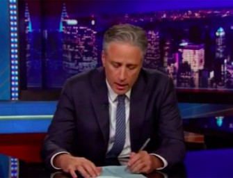 WATCH: Jon Stewart Gets Very Serious: Says He's Confident that Racially Motivated South Carolina Killing Will CHANGE NOTHING in this Country in Regards to Race Relations.  (Video)