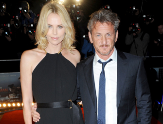 Charlize Theron Finally Realizes She Is Dating Sean Penn, Decides To End The Relationship