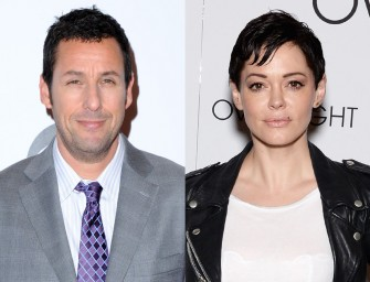 Is Adam Sandler A Sexist Pig? Rose McGowan Seems To Think So, Find Out Why Inside!