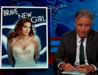 Jon Stewart on Caitlyn Jenner: Reveals Obvious Shocking Double Standard For Women In Media (Video)