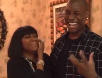 WATCH: Tyrese Goes Viral Again…..In Patti Labelle's Kitchen? (Video)