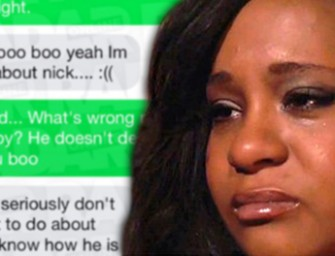 REVEALED: Desperate Text Messages From Bobbi Kristina Just Hours Before She was Found Passed Out Pleading For Help