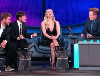 """Must Watch Video: Jennifer Lawrence Sings Cher's """"Believe"""" On Conan!"""