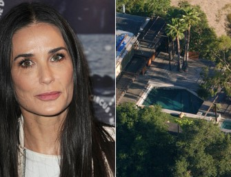 Demi Moore In Shock After Hearing That A Man Was Found Dead Inside Her Pool