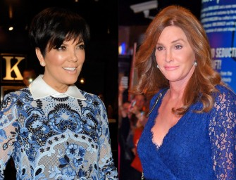 It Finally Happened! Kris Jenner And Caitlyn Jenner Meet In Person For The First Time