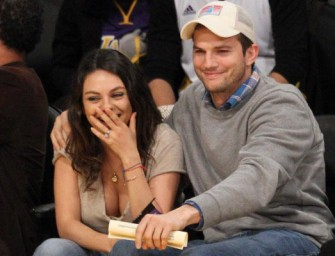 Mila Kunis Ruins Her Life, Marries Ashton Kutcher In Private Ceremony