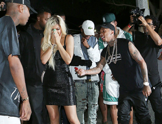 Tyga Shocks Kylie Jenner With A $320,000 Ferrari For Her 18th Birthday, Check Out The Photos Inside!