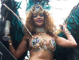 Watch: Rihanna Twerks And Shows Off Her Incredible (Nearly Naked) Body In Barbados!