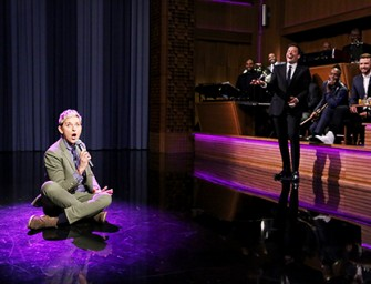 Watch: Jimmy Fallon And Ellen DeGeneres Team Up For One Of The Best Lip Sync Battles In History!