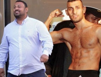 9 Years After Being Released From Prison, Former Trash-talking Boxing Champion Prince Naseem Makes A Rare Public Appearance.