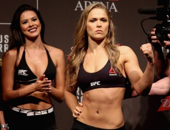 Ronda Rousey Continues To Be A Wonderful Person, Accepts Date To Marine Corps Ball!