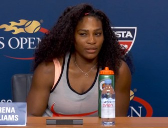 Watch: Serena Williams Keeps It Real During Post-Match Press Conference, Says She Doesn't Want To Be There