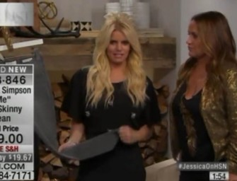Watch: Jessica Simpson Was Acting REALLY Strange During Live HSN Taping…Was She Drunk?