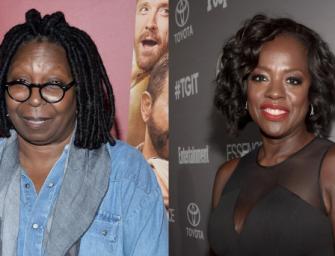 """Whoopi Is Not A Fan of Viola Davis' Emmy Speech.  Insists Black Women Have Had """"Plenty of Opportunity"""""""