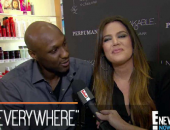 Khloe Kardashian Continues To Be Amazing, Stays Right By Lamar Odom's Side As He Moves To LA Hospital