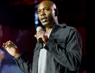 WATCH: Dave Chappelle is Funnier than Ever. Hilarious New Material Surfaces On Youtube (Video)