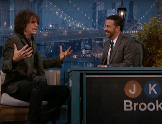 Howard Stern Reveals to Jimmy Kimmel the Real Reason He Quit America's Got Talent…and It's Pretty Lame. (Video)