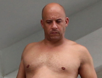 You Might Be Surprised To See What Vin Diesel Looks Like Shirtless; Well He is 48 Right?