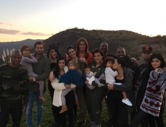 A Picture Perfect Thanksgiving, Kardashian Style. Photos from Their 2015 Holiday Might Make You Hate Your Life (7 PHOTOS)