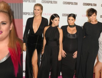 Kardashian Fans Prove To Be Too Much For Rebel Wilson.  Wilson Issues a Very Lame Peace Offering.