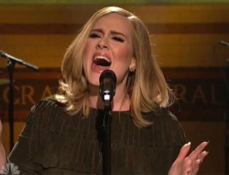 Prepare to be AMAZED!  We Have The ISOLATED Vocals from Adele's SNL Performance and It Will Blow You Away! (VIDEO)