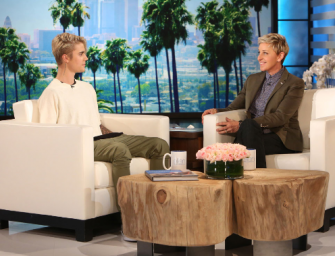 Are You Sitting Down? Justin Bieber Announced Some Major News On The Ellen DeGeneres Show! (VIDEO)