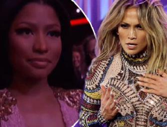 2015 American Music Awards Drama: Did Nicki Minaj Throw Some Shade At Jennifer Lopez's Booty-Filled Performance?