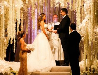 Sofia Vergara weds Joe Manganiello in Palm Beach