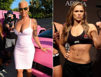 """Amber Rose Admits To Having """"Lesbianic Feelings"""" For Ronda Rousey (VIDEO)"""