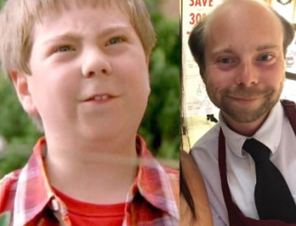 Remember 'Beans' From Even Stevens? He's Now Spreading Holiday Cheer At A Mall In California! (PHOTOS)