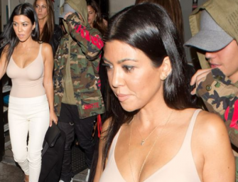 What In The World?! Is Justin Bieber Really Hooking Up With Kourtney Kardashian? (PHOTO)