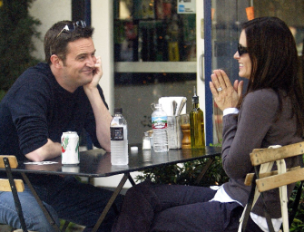 Bad News For You Monica And Chandler Fans, It Looks Like Those Courteney Cox/Matthew Perry Dating Rumors Were False!