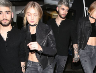 Uh-Oh…Already Trouble In Paradise? Sources Claim Gigi Hadid's Friends Don't Approve Of Zayn Malik!